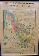 France and Curiosities Map By Louis Larmat