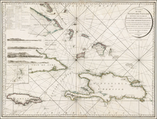 Caribbean Map By William Faden