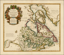 New England, Midwest, Plains, Rocky Mountains and Canada Map By Covens & Mortier