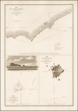 Hawaii, Hawaii and Other Pacific Islands Map By L.I. Duperrey
