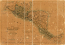 Central America Map By John Baily