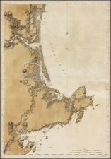 New England Map By Joseph Frederick Wallet Des Barres