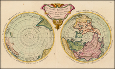 World, World and Polar Maps Map By Maurille Antoine Moithey