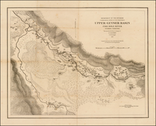 Rocky Mountains and Wyoming Map By United States Department of the Interior