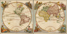 World and World Map By Eberhard Werner  Happel