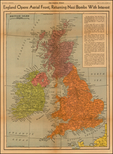 British Isles Map By Los Angeles Times