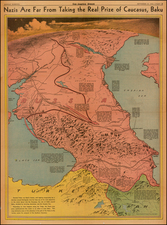 Russia, Ukraine and Central Asia & Caucasus Map By Charles H. Owens / Los Angeles Times
