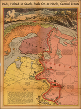 Polar Maps, Russia, Baltic Countries and Scandinavia Map By Charles H. Owens / Los Angeles Times