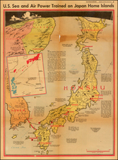 Japan, Korea and Russia in Asia Map By Charles H. Owens / Los Angeles Times