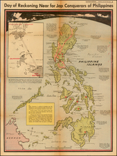 Philippines Map By Charles H. Owens / Los Angeles Times