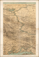 Mid-Atlantic, South, Southeast, Midwest and Plains Map By J.H. Bufford