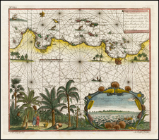 Southeast Asia, Indonesia and Other Islands Map By Johann Wolfgang Heydt