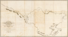 Polar Maps and Canada Map By Sir John Franklin
