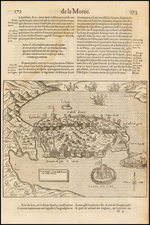 Greece Map By Francois De Belleforest
