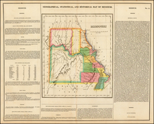 Midwest and Plains Map By Henry Charles Carey  &  Isaac Lea