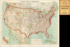 United States Map By A. Taride
