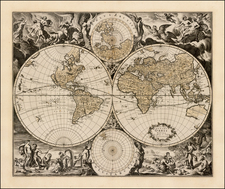 World and World Map By Jacobus Robijn