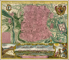 Spain Map By Matthaus Seutter