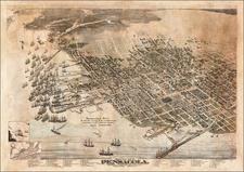 Florida Map By Augustus Koch