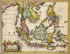 Southeast Asia and Philippines Map By Anthoine de Winter