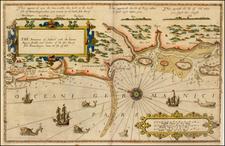Denmark Map By Lucas Janszoon Waghenaer