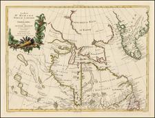 Polar Maps, Canada and Eastern Canada Map By Antonio Zatta