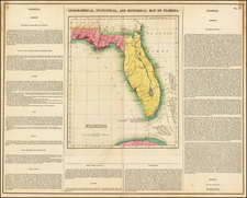 Florida Map By Henry Charles Carey  &  Isaac Lea