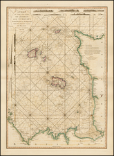 British Isles, France and Balearic Islands Map By William Faden