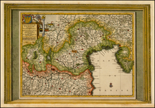 Italy Map By Pieter van der Aa