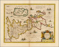 British Isles Map By Jan Jansson