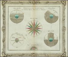 World and Celestial Maps Map By Louis Brion de la Tour