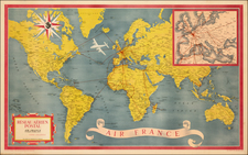 World and World Map By Atelier Perceval