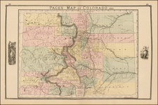 Southwest and Rocky Mountains Map By H.R. Page
