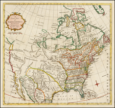 North America Map By John Lodge