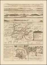 Caribbean, Other Islands, South America and Martinique Map By Johannes Kip
