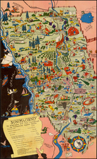 California Map By Lea McCarty