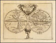 World Map By Pedro Murillo Velarde