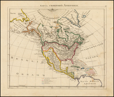 North America Map By Anonymous