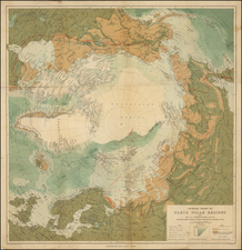 Polar Maps, Alaska and Canada Map By John Bartholomew