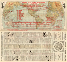 World and World Map By Matthews-Northrup & Co.