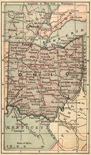 Midwest Map By The Bradstreet Company