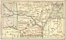 South Map By The Bradstreet Company
