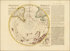 Southern Hemisphere, Polar Maps, Australia and New Zealand Map By Reiner & Joshua Ottens