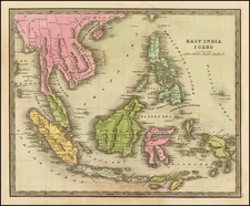 Southeast Asia and Philippines Map By Jeremiah Greenleaf