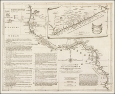 West Africa Map By Richard William Seale