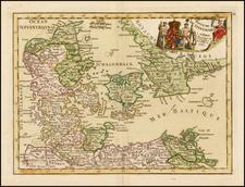 Scandinavia and Denmark Map By Jean-Baptiste Crepy