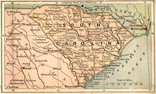 Southeast Map By The Bradstreet Company