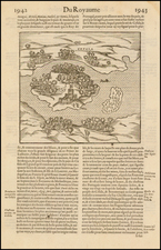 East Africa and African Islands, including Madagascar Map By Francois De Belleforest