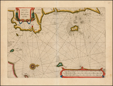 Denmark Map By Willem Janszoon Blaeu