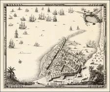 North Africa Map By Sebastien de Pontault Beaulieu